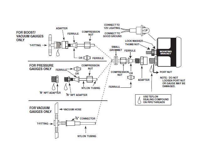 Auto Meter Gauge Wiring Diagram – Autometer Air Fuel Gauge Wiring Diagram