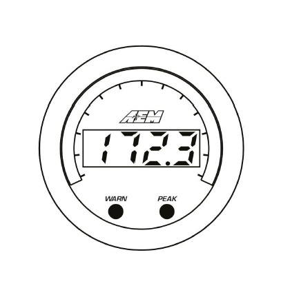 How To Install Aem Electronics X Series Temperature Gauge