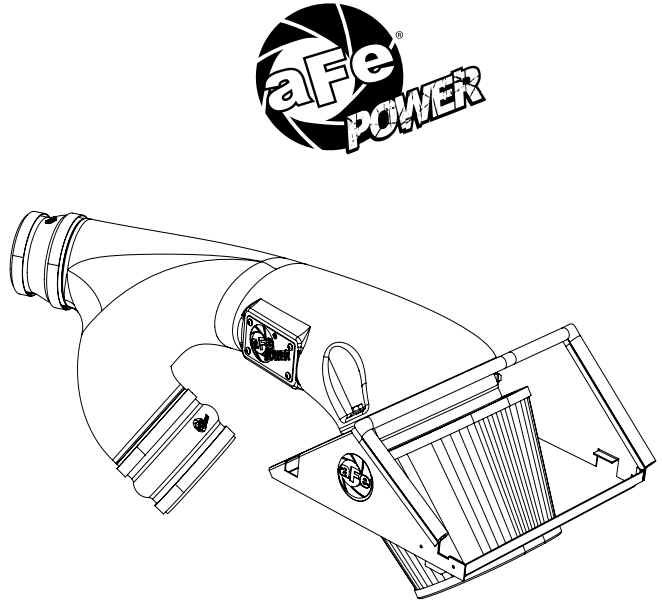 How To Install Afe Magnum Force Stage 2 Pro 5r Intake Systems On