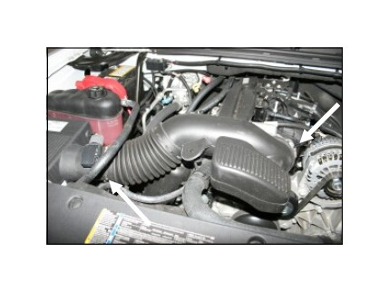 How to Install Airaid Cold Air Dam Intake w/ Blue SynthaMax