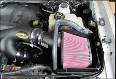 How to Install an Airaid Cold Air Dam Intake - SynthaMax Dry