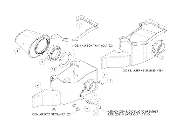 How To Install Airaid Mxp Series Cold Air Intake W Synthaflow Oiled
