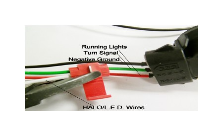 axial-black-projector-headlights-w-led-halos-02-05-all-12 Halo L Wiring Diagram on
