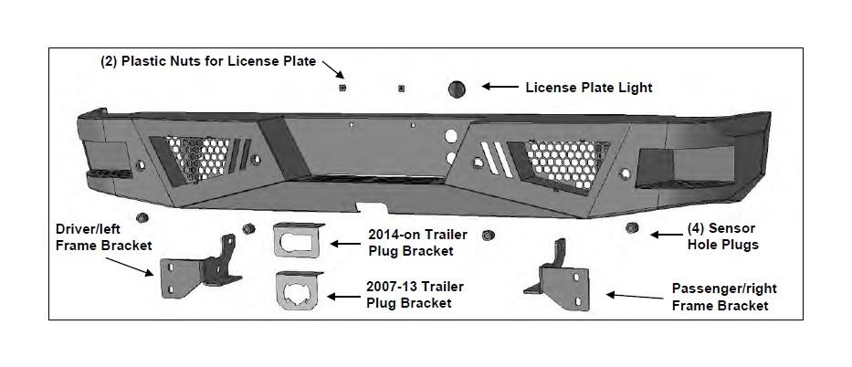 barricade extreme hd rear bumper 07 17 silverado 1500 2 how to install barricade extreme hd rear bumper (07 17 silverado