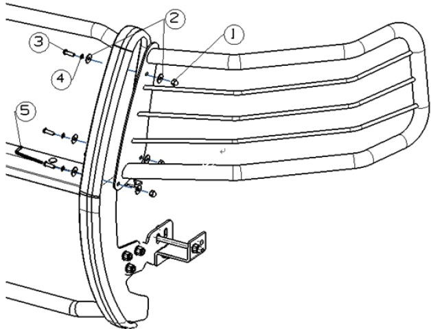 O7 Chevy 1500 Front End Diagram