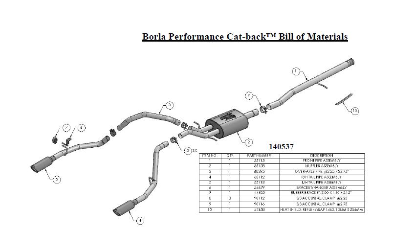 how to install borla atak cat-back exhaust
