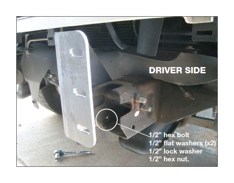 Front Bumper Bracket for 2007-2013 Silverado Sierra 1500 Driver /& Passenger Side