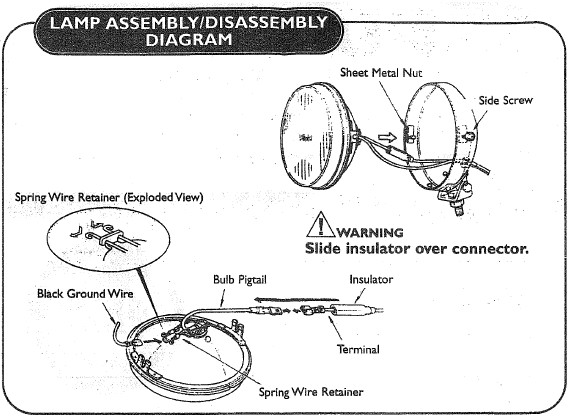 narva driving light harness instructions