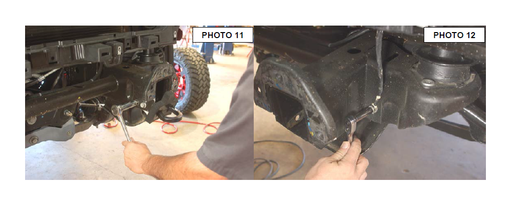 how to install rough country 1 25 in body lift kit on your Old Wire Frame Glasses Style the other ground wire is on passenger side body mount behind the tire see photo 13 14 remove the o2 sensor wire clip from frame just above passenger side