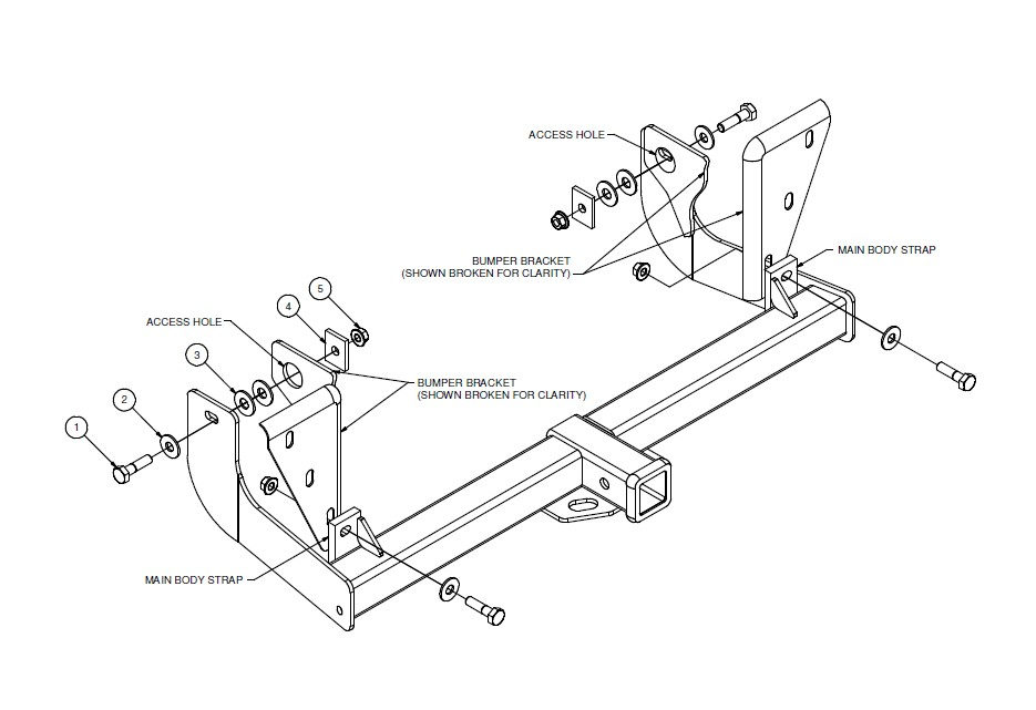How To Install Curt Manufacturing Class Iv Trailer Hitch On Your F