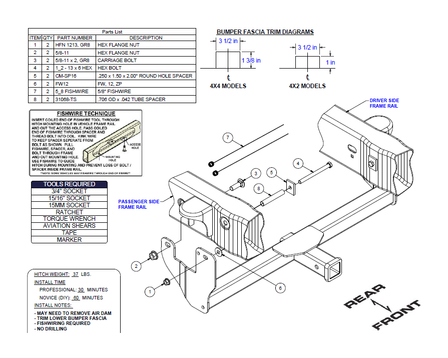 f 150 frame diagram how to install a curt manufacturing front mount hitch on your ford  curt manufacturing front mount hitch