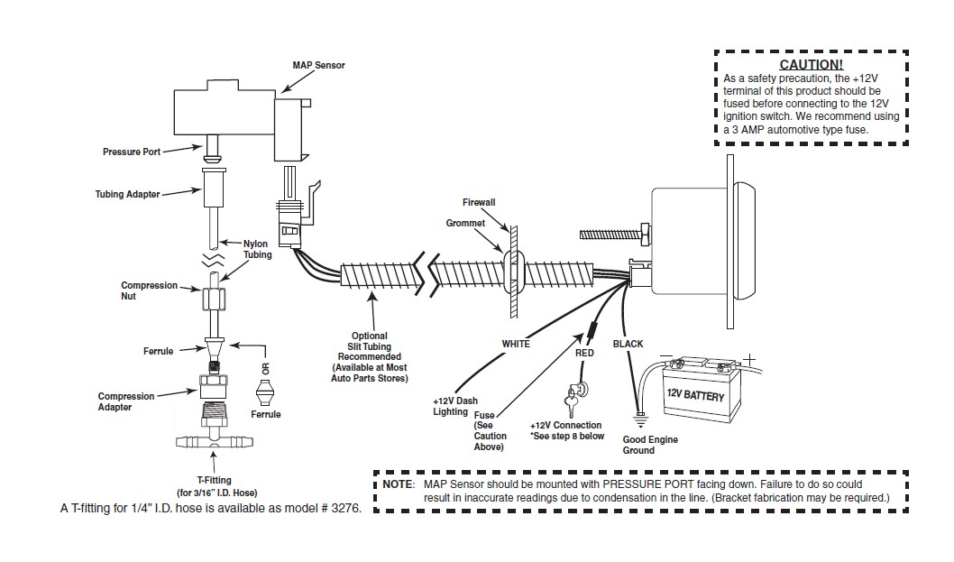 Boost Gauge Wiring Harness : How to install mopar boost gauge digital stepper motor