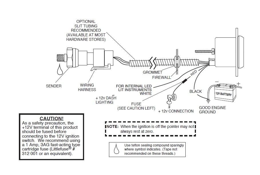 How to Install Mopar Oil Pressure Gauge - Digital Stepper Motor ...