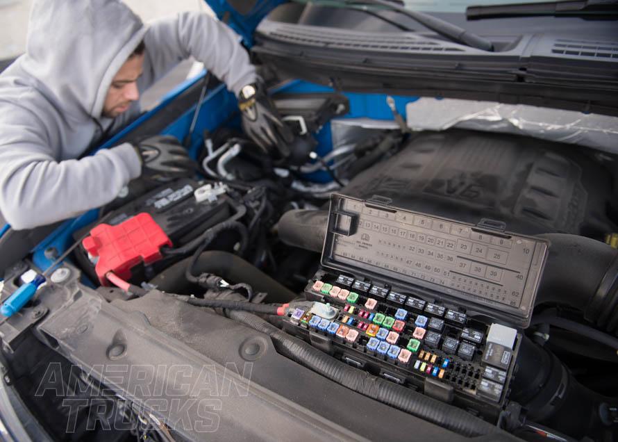 ford f150 engine repair