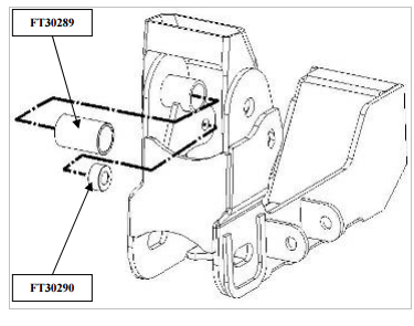 how to install fabtech 6 in basic lift kit w performance shocks on F150 Front End Diagram locate ft30068 passenger side differential support bracket attach the bracket first to the fabtech differential bracket using the already installed 7 16 x