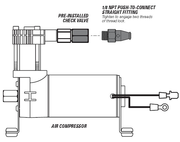 how to install firestone light duty air command dual