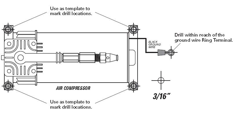 install air compressor