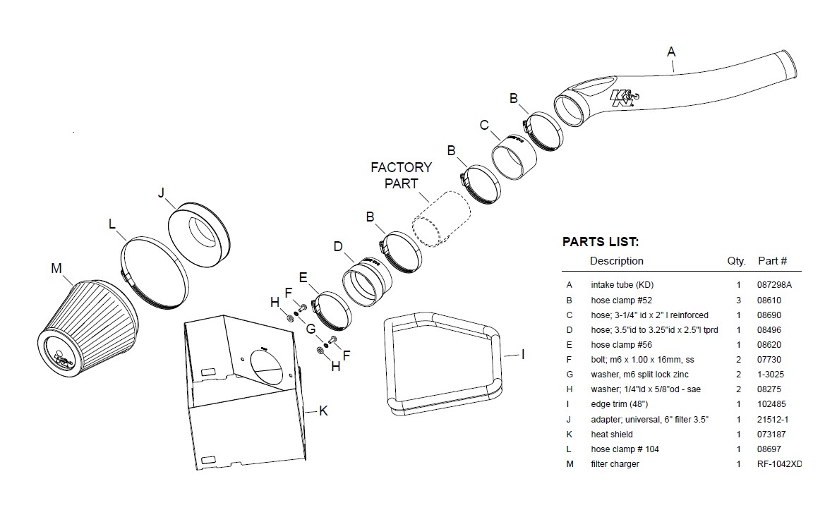 How To Install Kn Series 63 Aircharger Cold Air Intake On Your 3 Liter Dodge Engine Diagram 14 18 30l Ecodiesel Ram 1500