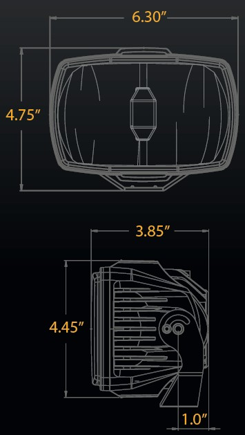 How to Install KC HiLiTES 4x6 in. Gravity G46 LED Light ... Kc Hilites Wire Diagram on