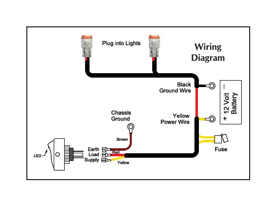kc light wiring harness diagram