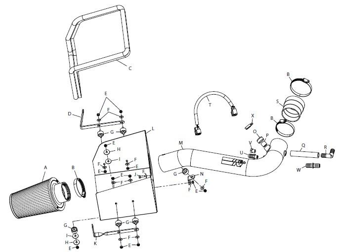 02 Chevy Silverado Tailgate Diagram