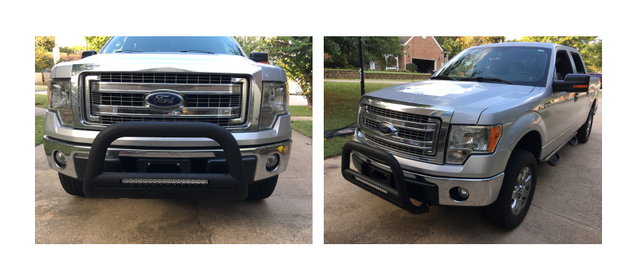 Admire Your New Bull Bar