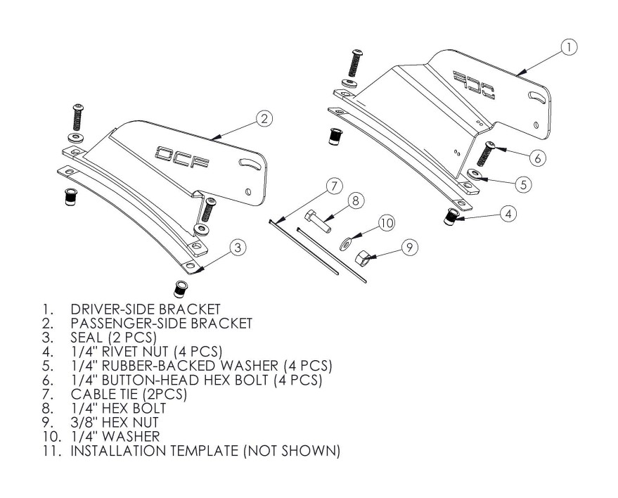 How to Install MBRP 54 in. Rigid Radius Light Bar Roof Mounting ...