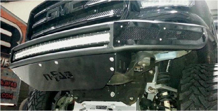 How to Install N-Fab M-RDS Radius Pre-Runner Front Bumper w/ Multi
