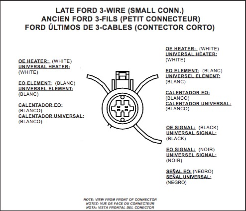 Ford Oxygen Sensor Wiring 1990 - wiring diagram on the net on