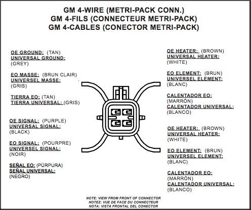 Mustang O2 Sensor Wire Diagram 4 - Catalogue of Schemas on