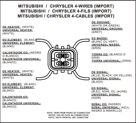 How to Install NTK Performance Oxygen Sensor - Front on your F-150 O Sensor Wiring Chrysler Diagram on