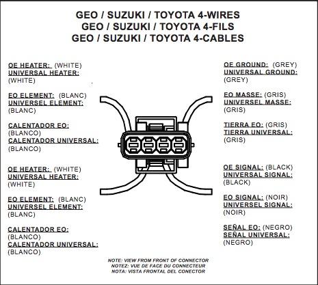 How to Install NTK Performance Oxygen Sensor - Front on your F-150 O Sensor Wiring Diagram Suzuki on suzuki pcv valve diagram, suzuki transmission diagram, suzuki forenza wiring diagram,