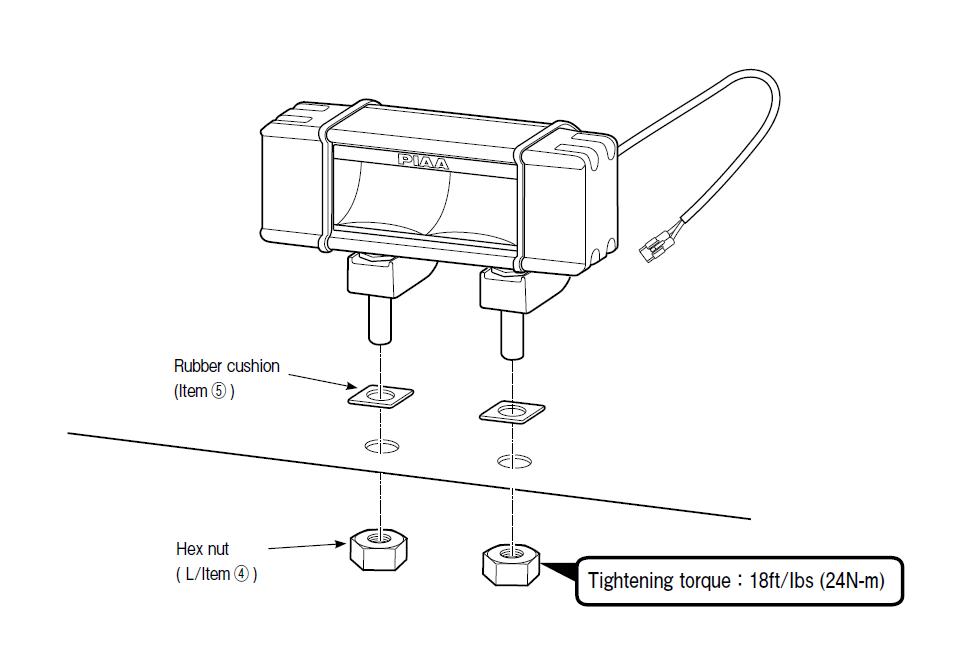 How to Install PIAA RF Series 18 in. Yellow LED Light Bar - Fog Beam ...