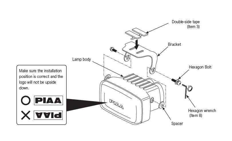 how to install piaa 2000 series xtreme white plus halogen