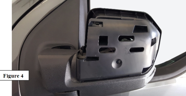 With Mirror Arm Still Slightly In Reinstall Lower Mirror Cover Being Sure To Align Side Marker If Equipped Tighten All  Torx Screws Refer To Figure