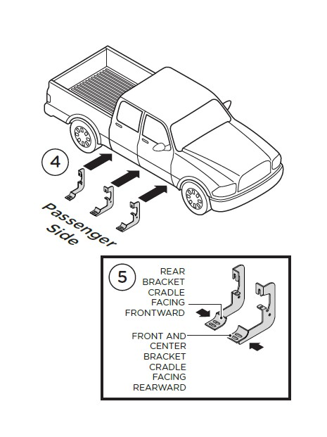 How To Install Raptor Series 4 In Cab Length Oval Side Step Bars