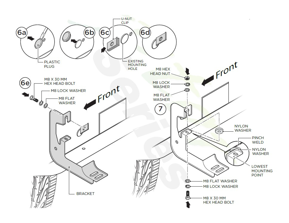 How To Install Raptor Series 4 In Oval Wheel To Wheel Side Step
