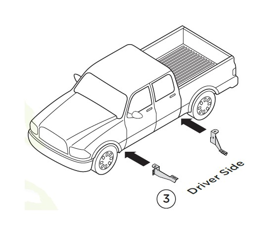 how to install raptor series 7 in ssr stainless steel running GMC Sierra Cowl Hood 5 remove the factory front and rear body mount bolts and install the mount brackets and running board per following instruction