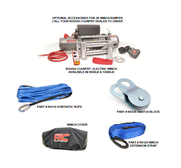 How to Install Rough Country Hidden Winch Mounting Plate on