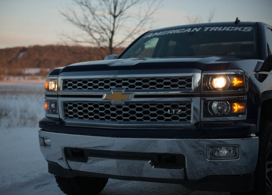Silverado Headlights and Upgrade Options on