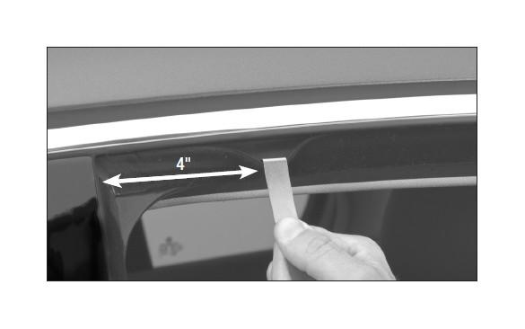 How To Install Weathertech Rear Side Window Deflectors