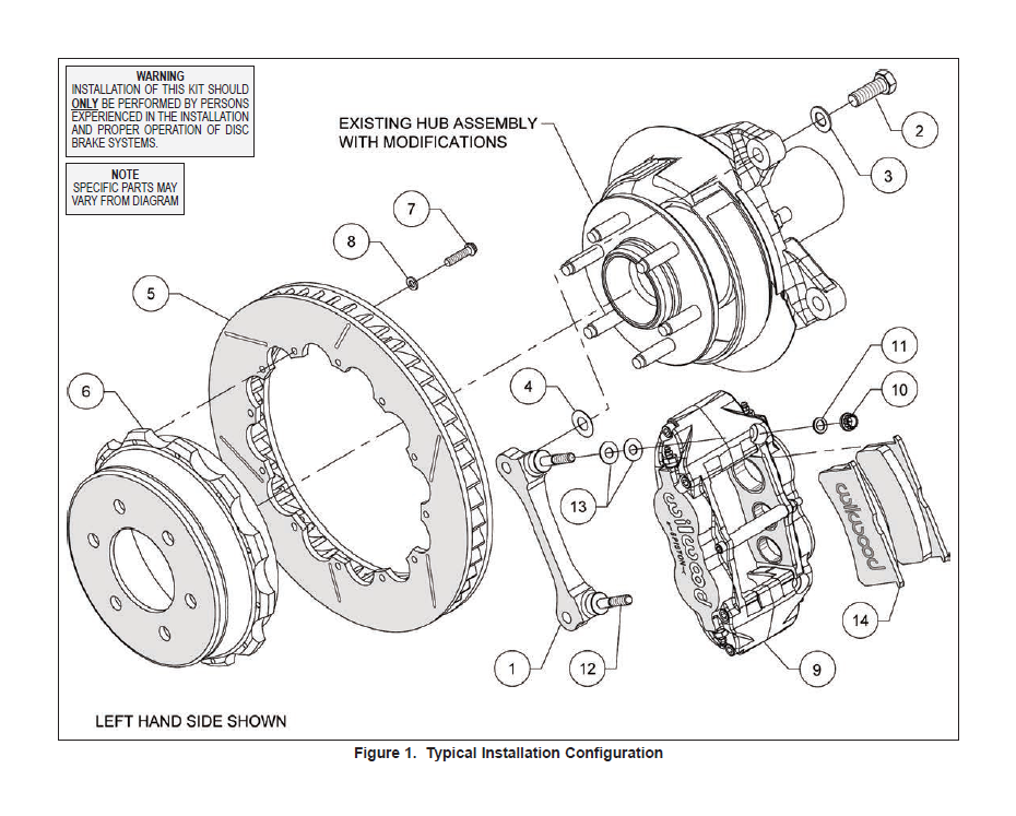 Exploded Assembly Diagram: Ford F 150 Hub Spindle Diagram At Downselot.com